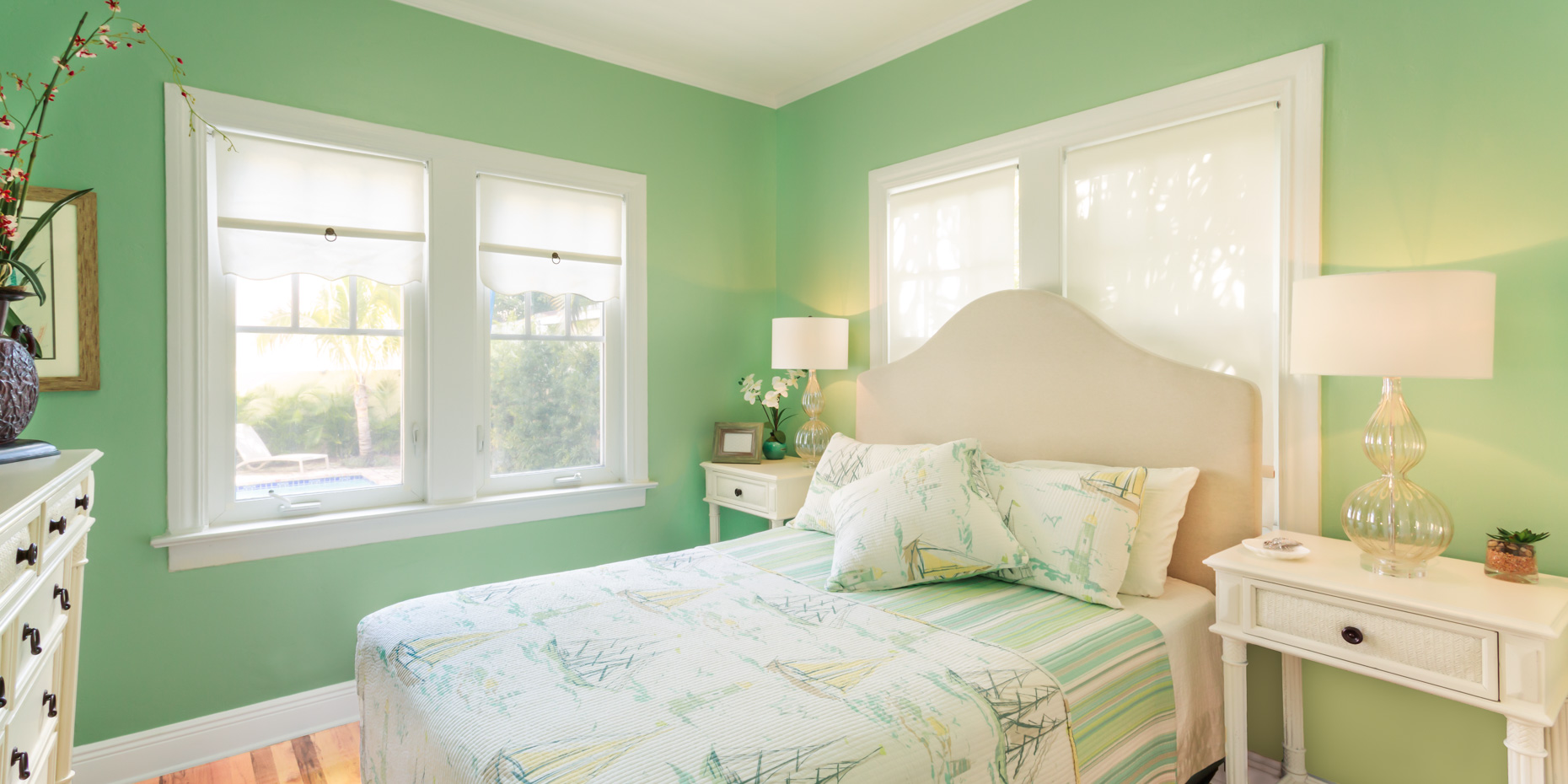 Michael Cushman Photography& Motion Bedroom_Green
